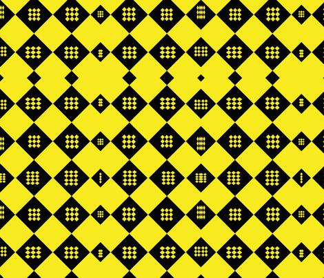 diamondblackyellow fabric by sharpestudiosdesigns on Spoonflower - custom fabric