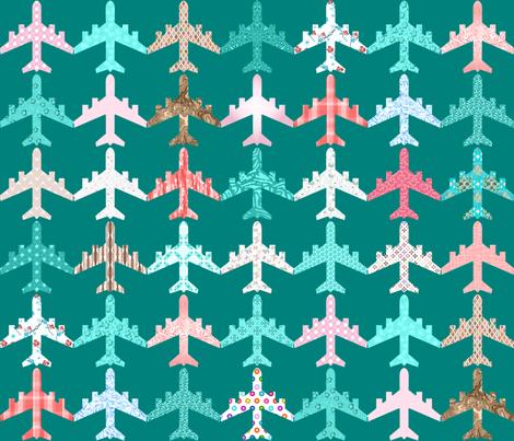 fly tweaked and recolored fabric by keweenawchris on Spoonflower - custom fabric