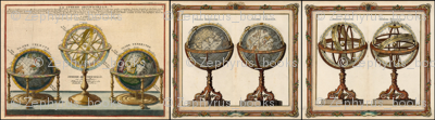 Astronomy Globes and Armillary Spheres
