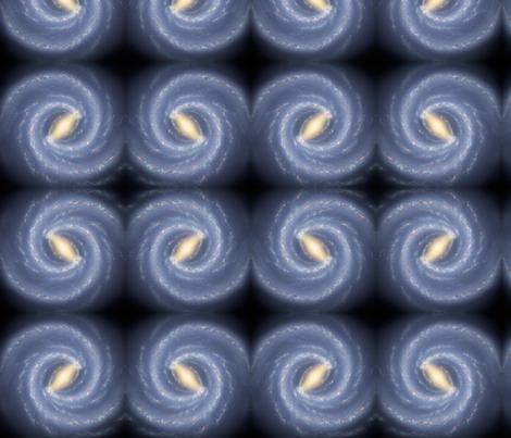 Astronomy Cat's Eye Galaxy fabric by zephyrus_books on Spoonflower - custom fabric
