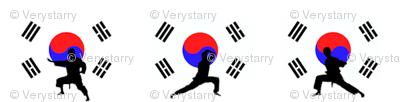 Taekwondo Poses