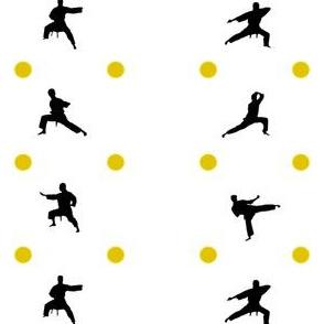 Taekwondo Yellow Dots