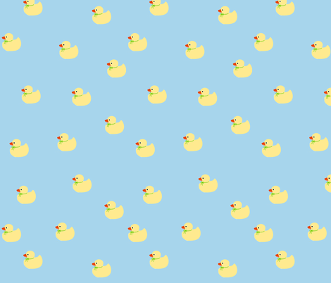new_ducks fabric by connielou on Spoonflower - custom fabric
