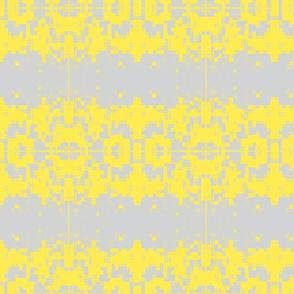 Peeling Paint Weave Silver Lemon
