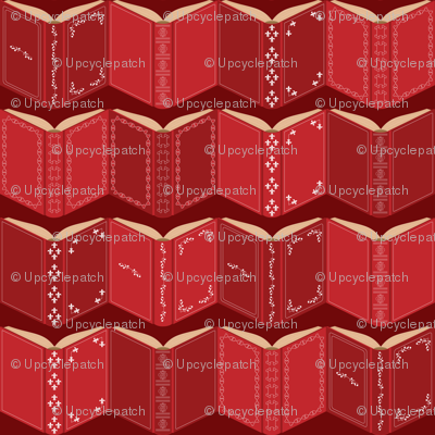 Love is an open book (red)