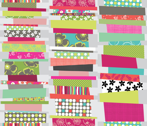 Stacks of Books fabric by cynthiafrenette on Spoonflower - custom fabric