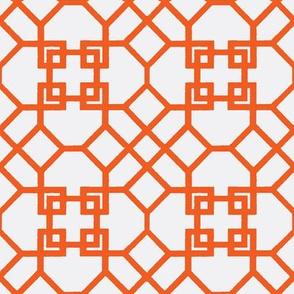 Lattice- Orange