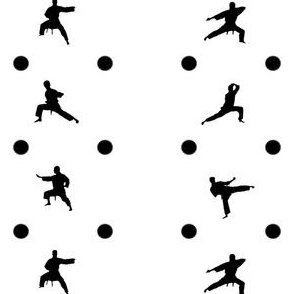 Taekwondo Black Dots