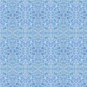 Blue neuron batik