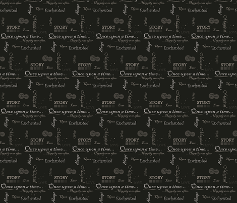 Ever Enchanted fabric by jbhorsewriter7 on Spoonflower - custom fabric