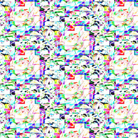 Roseypixelinfrahdr fabric by sharpestudiosdesigns on Spoonflower - custom fabric