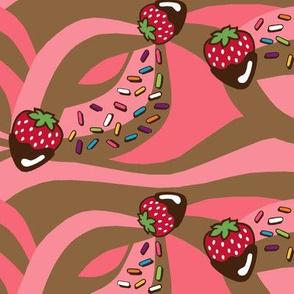 Strawberry Soft Serve