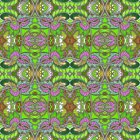 Color My Garden fabric by edsel2084 on Spoonflower - custom fabric