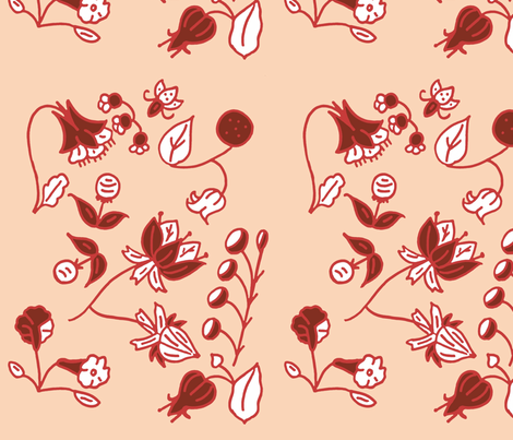 poppi fabric by kevicort on Spoonflower - custom fabric