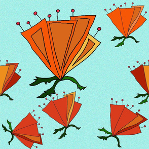 Mod poppies