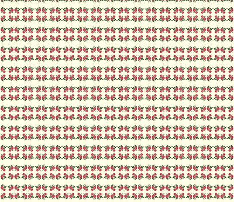 botanical rose fabric by hietala on Spoonflower - custom fabric