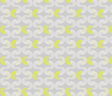 Neon Wave 1 fabric by littletreedesigns on Spoonflower - custom fabric