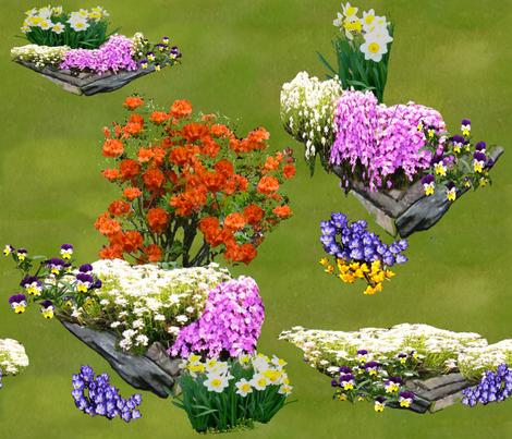 Rock_garden_4 fabric by khowardquilts on Spoonflower - custom fabric