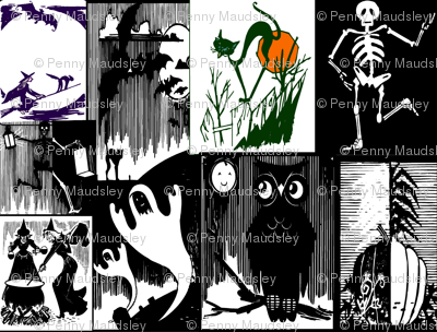 HALLOWEEN CHEATER QUILTS