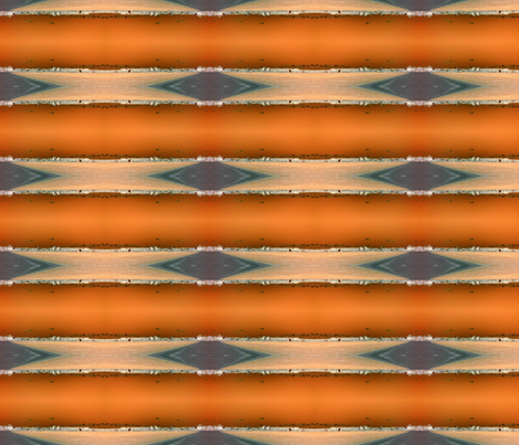 Orange waterfront fabric by sharpestudiosdesigns on Spoonflower - custom fabric