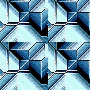square medium blue