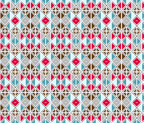 Abstract Argyle fabric by atomic_bloom on Spoonflower - custom fabric