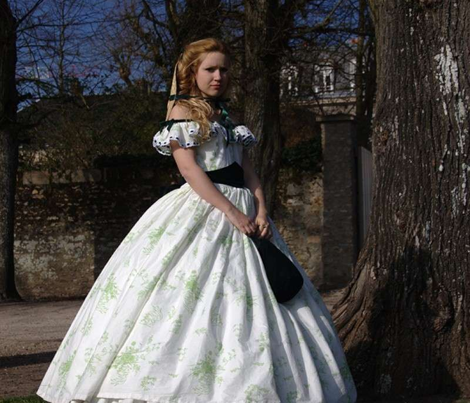 Gone with the Wind - Scarlett O'Hara BBQ Dress