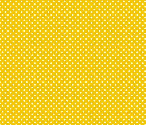 pois blanc fond jaune fabric nadja petremand spoonflower. Black Bedroom Furniture Sets. Home Design Ideas