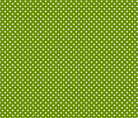pois blanc fond vert anis fabric by nadja_petremand on Spoonflower - custom fabric