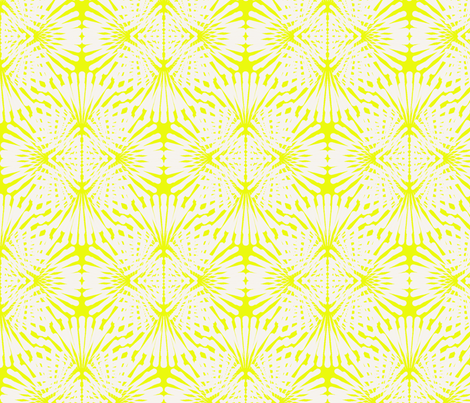 Neon Wave 2 fabric by littletreedesigns on Spoonflower - custom fabric