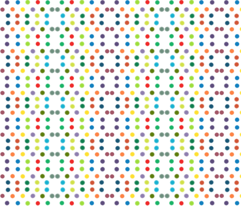 circle circle dot dot fabric by vintagesongbird on Spoonflower - custom fabric