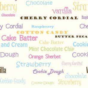 Flavors Vanilla