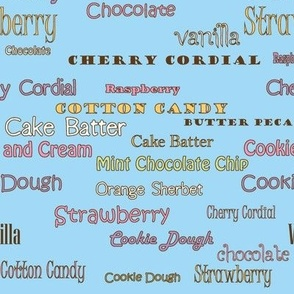 Flavors Cotton Candy