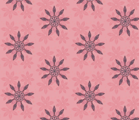 Flower dance fabric by kirpa on Spoonflower - custom fabric