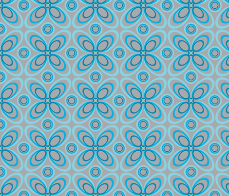 Mod Loops fabric by jjtrends on Spoonflower - custom fabric