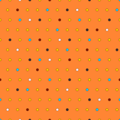 Little Dots (on orange)
