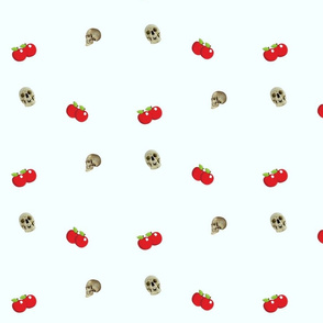 Apples and skulls