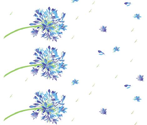 cestlaviv_emilylynn border fabric by cest_la_viv on Spoonflower - custom fabric