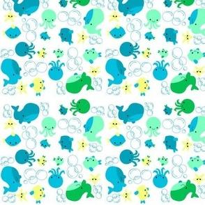 Ocean & Bubbles SeaFoam