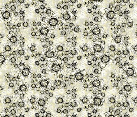 Jungle Wisp fabric by joanmclemore on Spoonflower - custom fabric