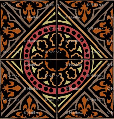 medieval Tile (warm)