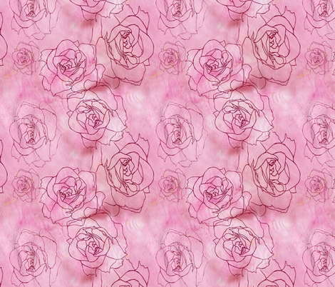 Petals fabric by aftermyart on Spoonflower - custom fabric