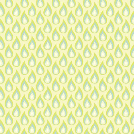 SeaFireworks Rain Drops fabric by designmagi on Spoonflower - custom fabric