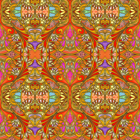 Faberge Egg Hunt fabric by edsel2084 on Spoonflower - custom fabric
