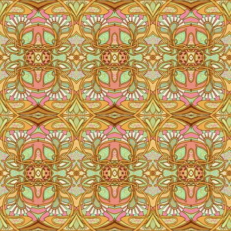 The Return of Art Nouveau fabric by edsel2084 on Spoonflower - custom fabric