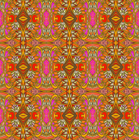 Psychedelicatessen fabric by edsel2084 on Spoonflower - custom fabric