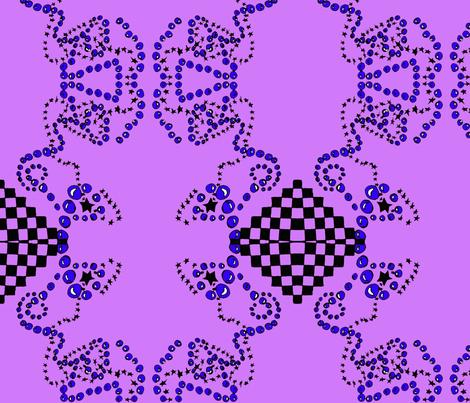 Bubblestar fabric by sharpestudiosdesigns on Spoonflower - custom fabric