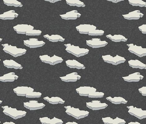 walrus_and_iceberg_linen fabric by holli_zollinger on Spoonflower - custom fabric