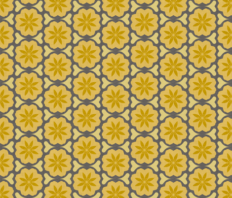 dutch_flowers_summer fabric by holli_zollinger on Spoonflower - custom fabric