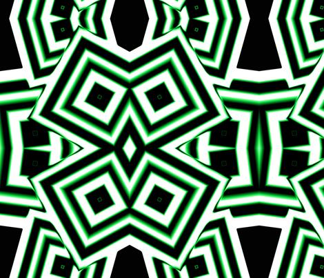crazydiamondsgreen fabric by sharpestudiosdesigns on Spoonflower - custom fabric